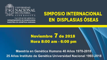 Simposio Internacional en Displasias Óseas